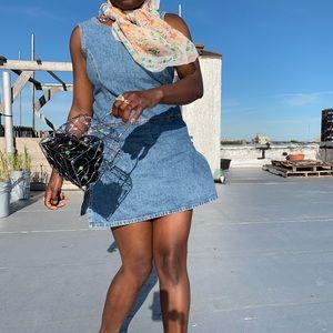 Dresses & Skirts - Denim romper dress